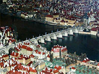 Langweil's model of Prague made between 1826 and 1837