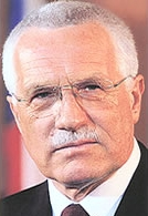 President of the Czech Republic Vaclav Klaus